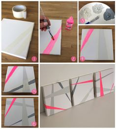 tutoriel tableau fluo; I want to make these !