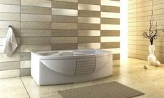 Tiles are often the most used material in the bathroom, so choosing the right one is an easy way to improve your bathroom style. See how top designers create beautiful loos with marble, ceramics, porcelain and glass ceramics. The idea of ​​bathroom tile design can make a big impact. Look at this bathroom tile idea, there is something appropriate for every budget. #bathroomtileideas #smallbathroomtile #modernbathroomtile