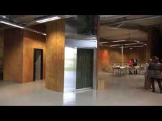 El Talud de la Ería, Espacio Coworking en Oviedo destinado a emprendedores y jóvenes empresarios. Divider, Room, Furniture, Home Decor, Business Men, Oviedo, Space, Home, Bedroom