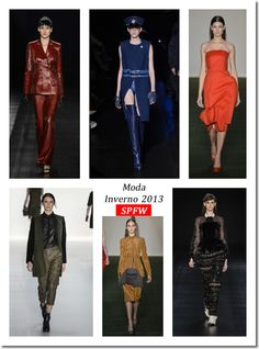 Moda Inverno 2013 – SPFW