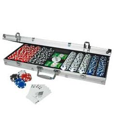 PartyPoker 500 Chip Deluxe Poker Set.