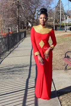 Cassandra kaftan without slit  ~African fashion, Ankara, kitenge, African women dresses, African prints, Braids, Nigerian wedding, Ghanaian fashion, African wedding ~DKK