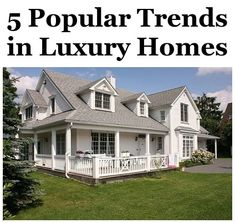 5 Popular Trends in Luxury Homes -- You can learn even more details at the web link of the photo.