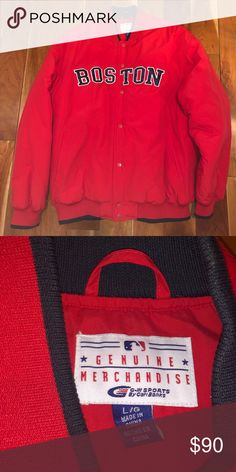 c6cb2ee8b8e   MLB   Red Sox Jacket - NEW WITHOUT TAGS - Men s L - Boston Red