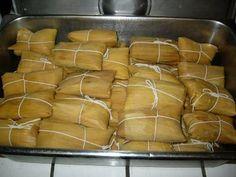 My Cuban Traumas: Tamales Cubanos - Cuban Tamales