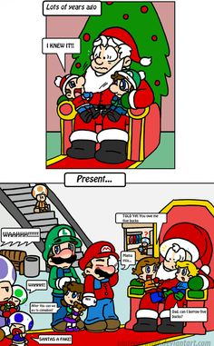 like father like son by Nintendrawer.deviantart.com on @deviantART