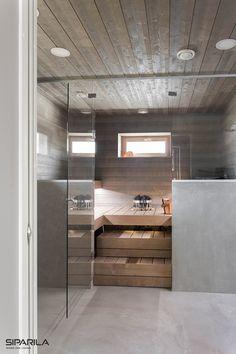40 Beautiful Sauna Design Ideas For Your Bathroom Sauna Steam Room, Sauna Room, Saunas, Bathroom Toilets, Laundry In Bathroom, Beautiful Bathrooms, Modern Bathroom, Piscina Spa, Indoor Sauna