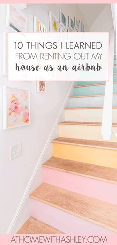 Since we started renting our home as an Airbnb six months ago, I learned so much! And I wish I had known a lot more about what it takes to manage a short term rental. Here's things I learned from renting out my house as an Air BNB. Air Bnb Tips, Airbnb Rentals, Vacation Rentals, Airbnb House, Budget Home Decorating, Air B And B, Rental Property, Home Repair, Of Wallpaper