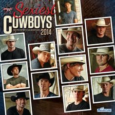 2014 PBR Sexiest Cowboy Calendar | The Official Professional Bull Riders Shop | Store  I sooooooo want one of these!!!!!!!