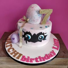 Cracking cakes at Occasion Cakes 7th Birthday Cakes For Girls, Birthday Fun, Cake Birthday, Mermaid Birthday, Birthday Ideas, Celebration Cakes, Birthday Celebration, Cake Designs For Girl, Beautiful Birthday Cakes