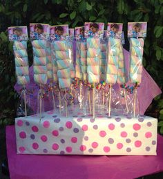 Doc McStuffins Marshmallows Party Favors by FantastikCreations, $1.00