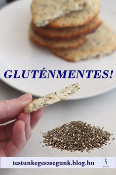 Sin Gluten, Chia Puding, Diy Food, Gluten Free Recipes, Food Porn, Food And Drink, Low Carb, Keto, Bread