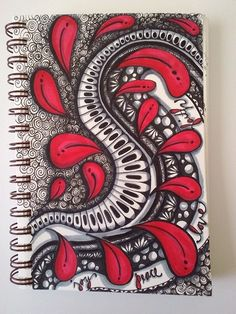 Zentangle, doodle, tangle by jody kanters