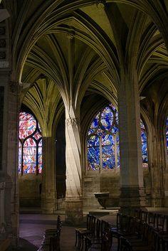 St-Severin: Columns and Vaulting  Paris