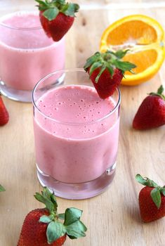 Strawberry Orange Dream Smoothie : Magic Bullet Blog