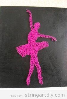 bailarín de ballet de la bailarina arte Cadena Arte de la Secuencia