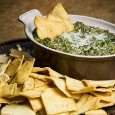 Soy, lactose free Spinach-Artichoke Dip!
