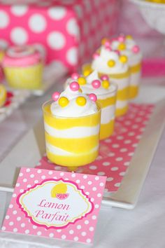 Pink Lemonade themed party