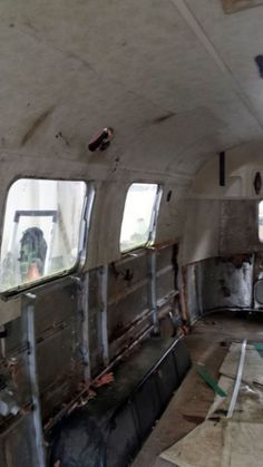 The Airstream will be shipped to Dubai, once it is complete