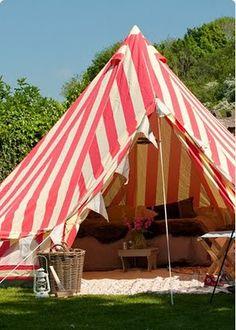 my idea of camping...