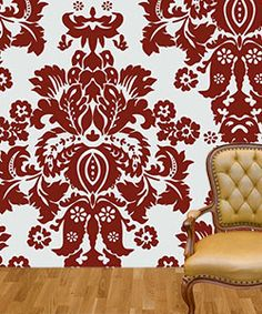 custom fabric wallpaper/ peel and stick and removable
