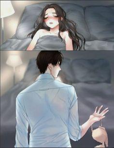 Anime Love Story, Anime Love Couple, Manga Love, Romantic Anime Couples, Romantic Manga, Anime Couples Sleeping, Anime Couples Drawings, Anime Couples Manga, Yandere Anime