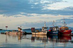 Fishing boats Isle of Skye Fishing Boats, Sailing Ships, New York Skyline, Explore, Places, Photography, Travel, Photograph, Viajes