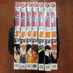 Bleach Manga Tite Kubo Volume 2 3 4 5 6 18 19 Lot of 7 Books Viz Anime