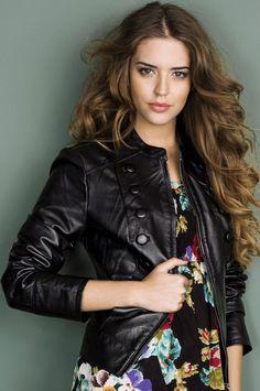 Picture of Clara Alonso Clara Alonso, Fashion Models, Fashion Beauty, Fashion Outfits, Ciara Bravo, Best Leather Jackets, Spanish Fashion, Victoria Secret Fashion Show, Female Models