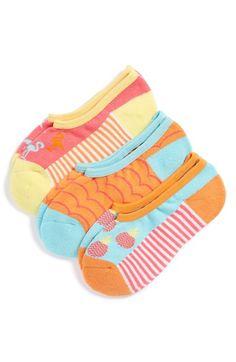 Tucker + Tate 'Tropical Fruit' Liner Socks (3-Pack) (Little Kid & Big Kid) available at #Nordstrom