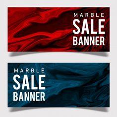 大理石销售横幅免费矢量 Sale Banner, Banner Design, Atari Logo, Vector Free, Poster, Posters