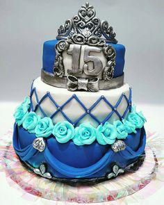 Torta princesa de 15 años.