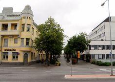 Kokkola, Central Ostrobothnia province of Western Finland - Keski-Pohjanmaa Elba, Summer Sun, Homeland, Westerns, Bucket, Street View, Mansions, House Styles, City
