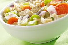 Chicken soup has been found to be one of the three things that decreases the length of the common cold. This recipe from the Oz family has a secret ingredient: ginger juice. It also helps boost immunity and soothes inflammation.