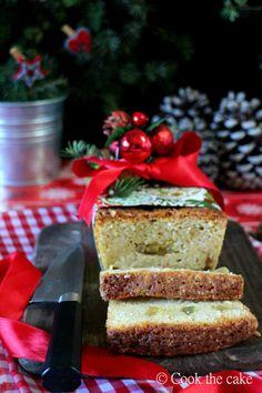 Cookcakes de Ainhoa: EL INVITADO DEL MES: COOK THE CAKE. POUND CAKE DE NAVIDAD DE JENGIBRE Y LIMÓN