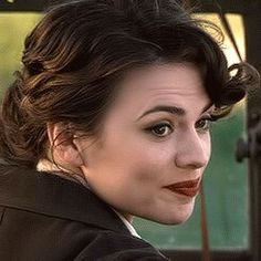 Hair and make up. Peggy Carter style