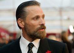famousfacialhair: Viggo Mortensen sporting the philosopher beard look