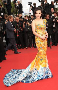 Fan Bing Bing in another delicious gown