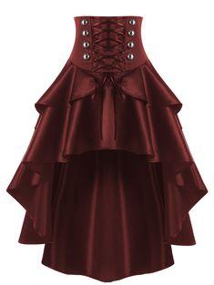 Details about Vintage Gothic Victorian High Waisted Skirt Steam Punk Retro Gothic Dress Black - Clothes - Gothic Outfits, Gothic Dress, Edgy Outfits, Mode Outfits, Victorian Corset Dress, Victorian Dresses, Victorian Lace, Victorian Decor, Gothic Lolita