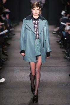 Blue Grey <3  rag&bone Fall 2013 RTW Collection - Fashion on TheCut