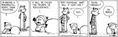 This is too good not to share: Calvin and Hobbes on Gocomics.com