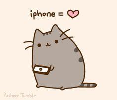 Pusheen... super cute cat!