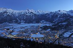 Nestled in the foothills of the Bernese Alps, Interlaken is also Switzerland's adventure-sports capital, so prepare to get your pulse racing as you hike in the hills, take a horseback ride around the lake, or plummet from the sky on a death-defying bungee jump. Of course, winter brings plenty of powder, and Interlaken is perfectly situated for visiting the nearby ski resorts or ice-skating and snowshoeing around the lakelands. Interlaken, #Switzerland #iGottaTravel