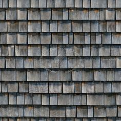 Texture seamless | Wood shingle roof texture seamless 03779 | Textures…