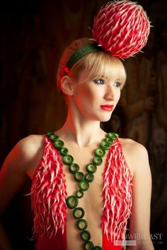 Fabulous Headpiece, 2011 Russian Floral Dress Contest - Dmitry Zudin