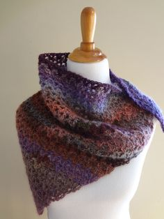 Fiber Flux...Adventures in Stitching: Free Crochet Pattern...Kristen Shawl!