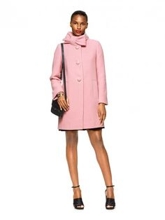 How to wear bows with style this season.    --  pink-bow-coat