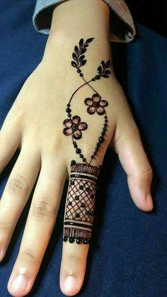 Ideas for tattoo ideas finger henna mehndi Simple Mehndi Designs Fingers, Modern Henna Designs, Latest Henna Designs, Henna Tattoo Designs Simple, Floral Henna Designs, Basic Mehndi Designs, Finger Henna Designs, Henna Art Designs, Mehndi Designs For Beginners