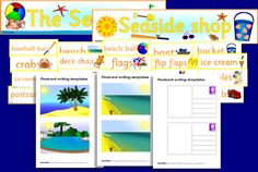Seaside Shop Dramatic Play extras