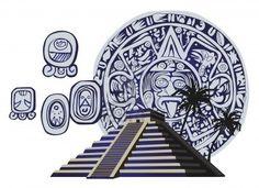 Resultados de la Búsqueda de imágenes de Google de http://us.123rf.com/400wm/400/400/dayzeren/dayzeren1108/dayzeren110800068/10400627-ilustracion-con-la-piramide-maya-y-glifos-antiguos.jpg
